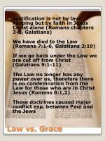 law vs grace