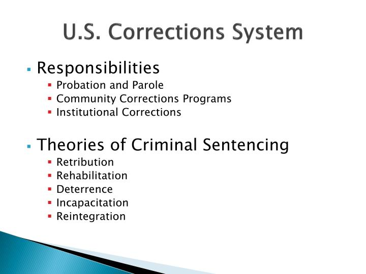 U.S. Corrections System