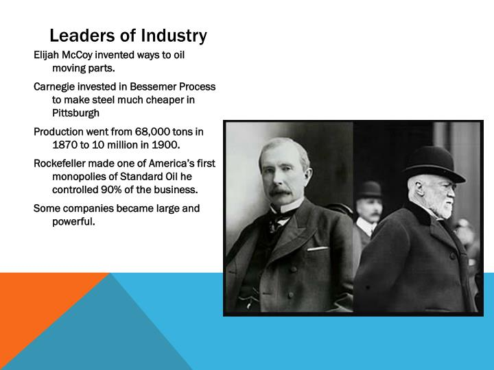Leaders of Industry