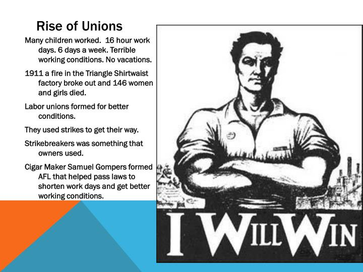 Rise of Unions