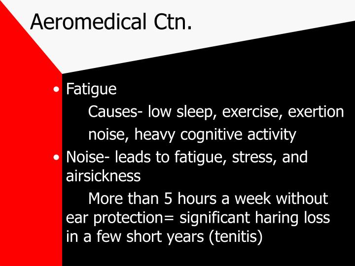 Aeromedical Ctn.
