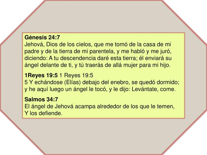 Génesis 24:7