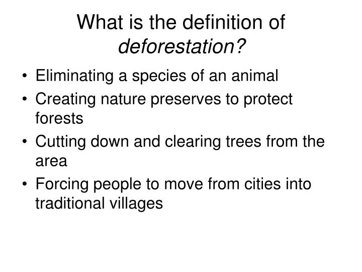 What is the definition of