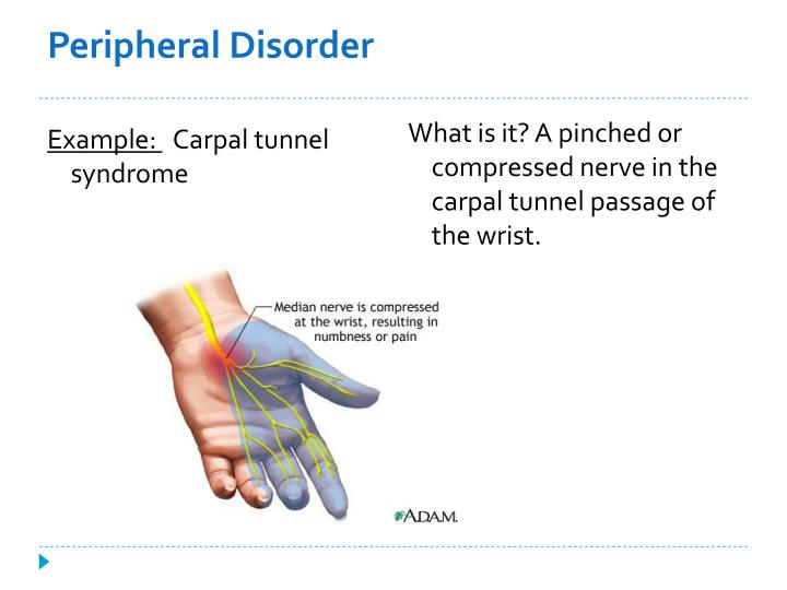 Peripheral Disorder