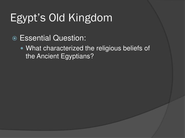 Egypt's Old Kingdom