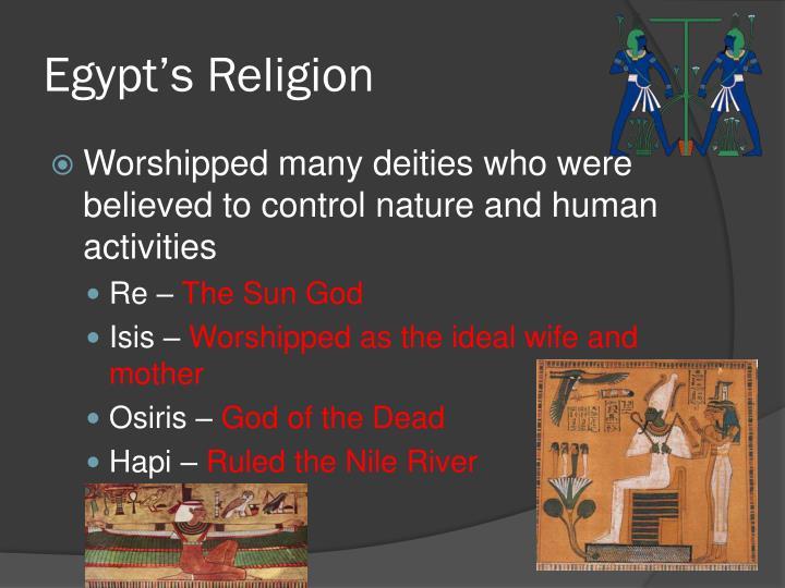 Egypt's Religion