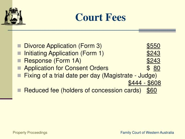 Court Fees