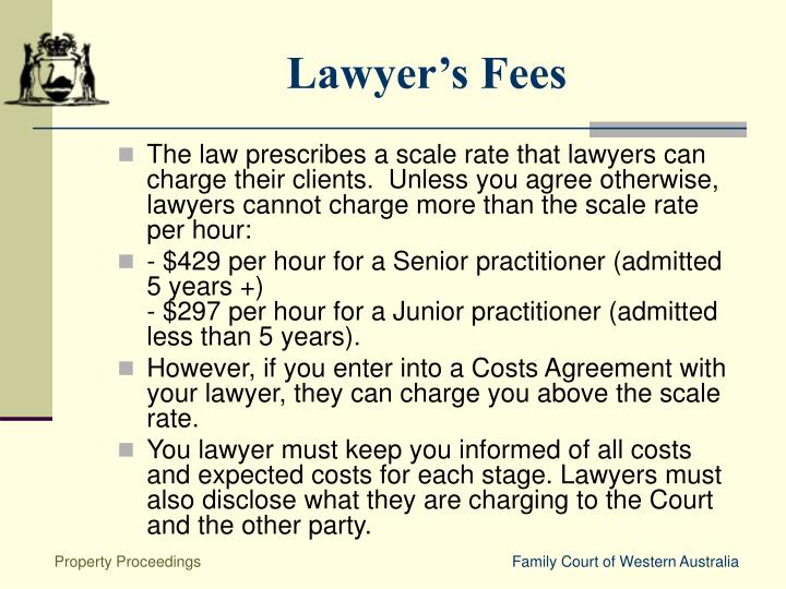 Lawyer's Fees