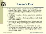 lawyer s fees