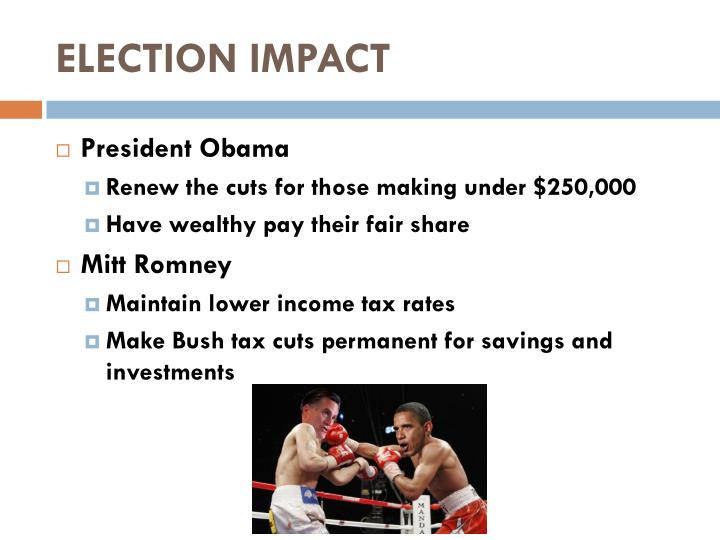 ELECTION IMPACT