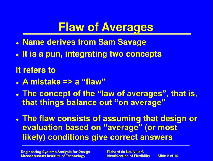 Flaw of averages1