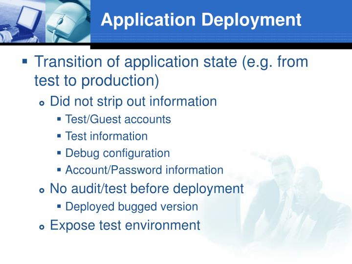 Application Deployment