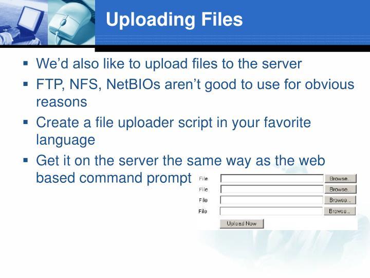 Uploading Files