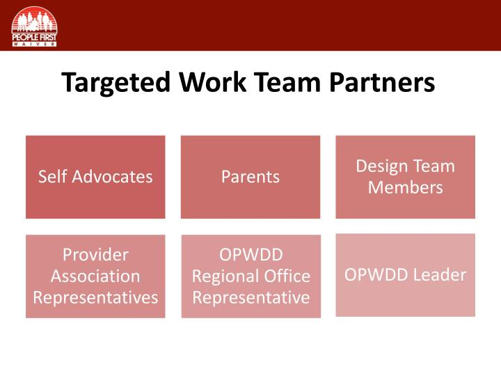 Targeted Work Team Partners