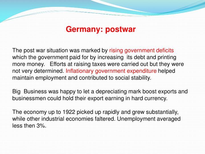 Germany: postwar