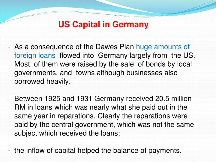 US Capital in Germany