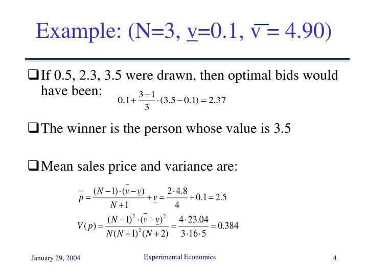 Example: (N=3,