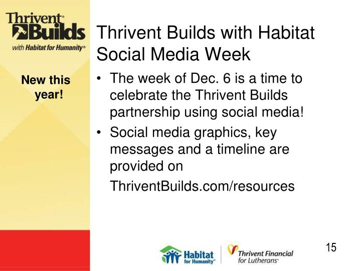 Thrivent Builds with Habitat