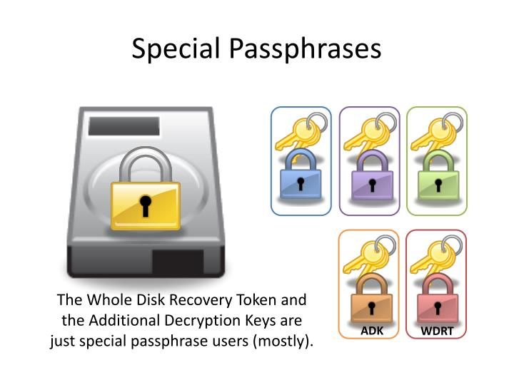 Special Passphrases