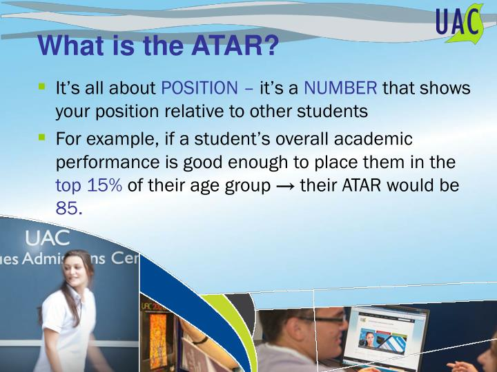 What is the ATAR?