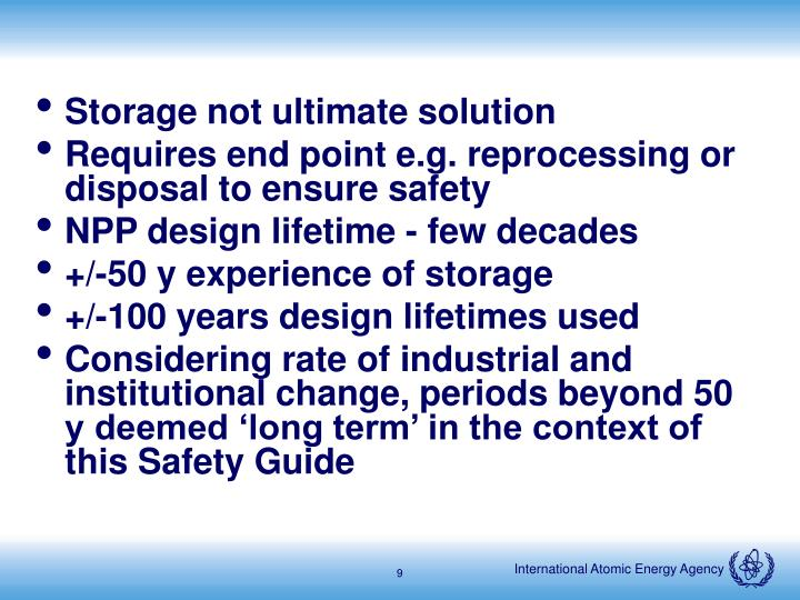 Storage not ultimate solution