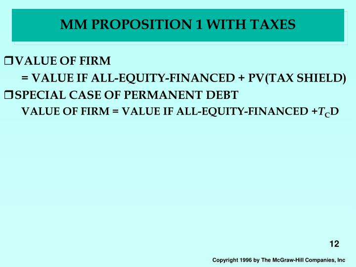 MM PROPOSITION 1 WITH TAXES