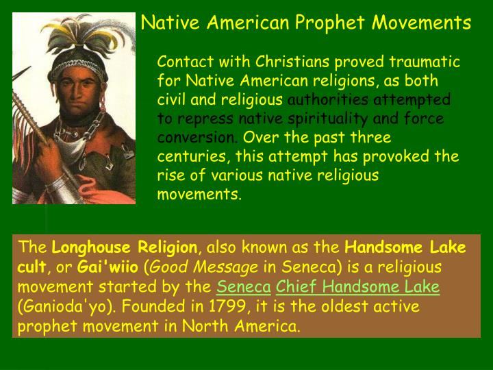 Native American Prophet Movements