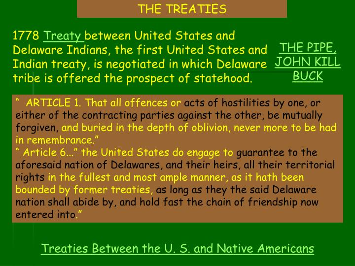 THE TREATIES