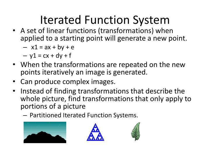 Iterated Function System