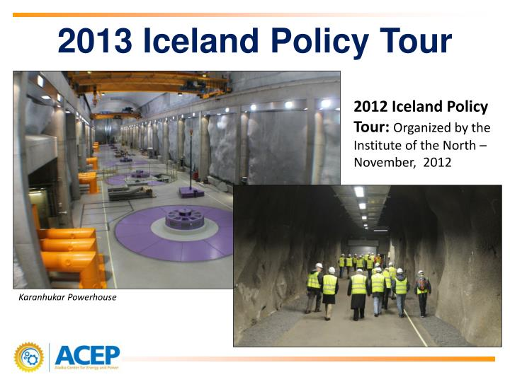 2013 Iceland Policy Tour
