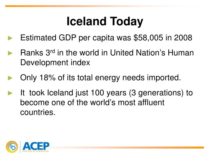 Iceland Today