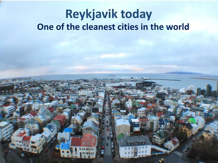 Reykjavik today
