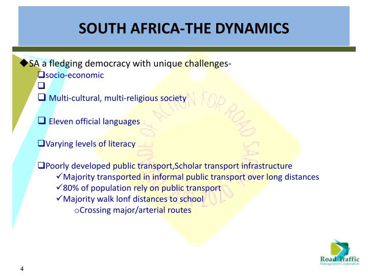 SA a fledging democracy with unique challenges-