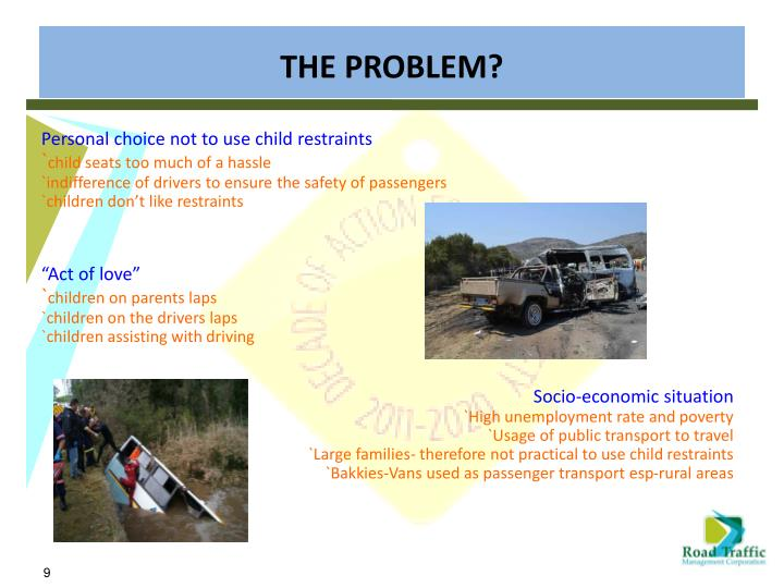 Personal choice not to use child restraints