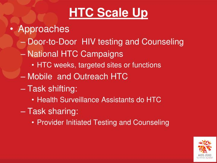 HTC Scale Up