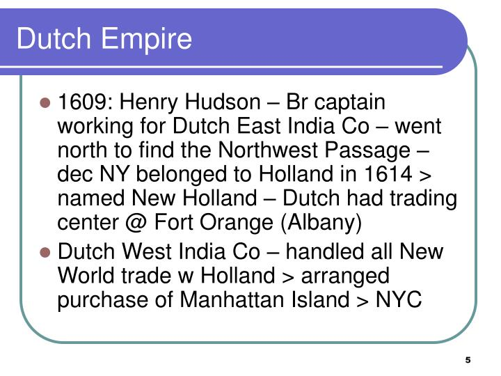 Dutch Empire
