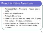 french native americans