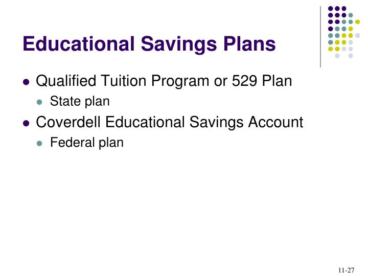 Educational Savings Plans