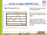 trends in wages 2008 09 asia