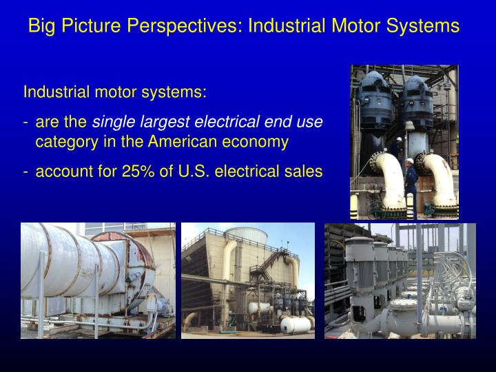 Big Picture Perspectives: Industrial Motor Systems