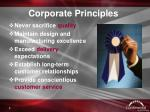 corporate principles