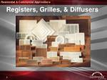 registers grilles diffusers