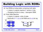 building logic with roms1
