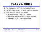 plas vs roms