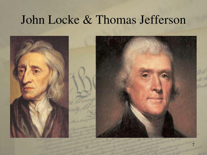 John Locke & Thomas Jefferson