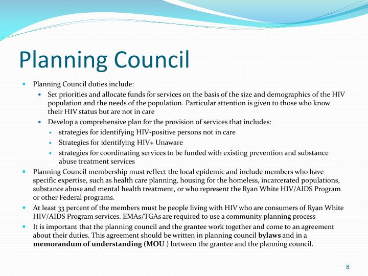 Planning Council