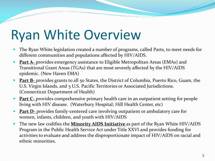 Ryan white overview