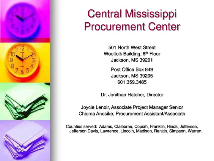 Central Mississippi Procurement Center