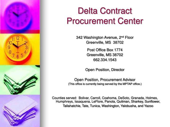 Delta Contract