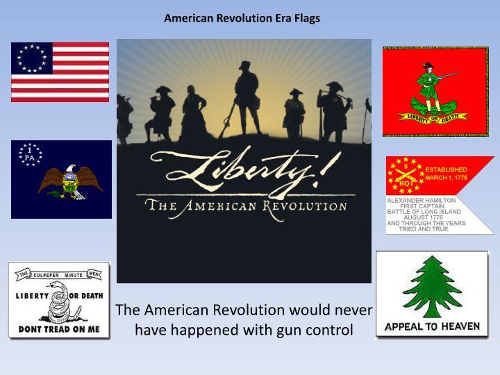 American Revolution Era Flags